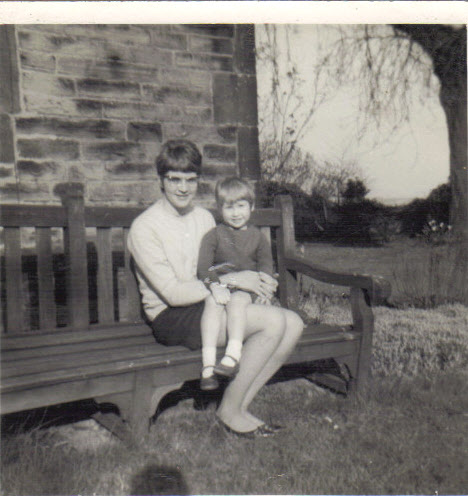 March 69 Mum and me